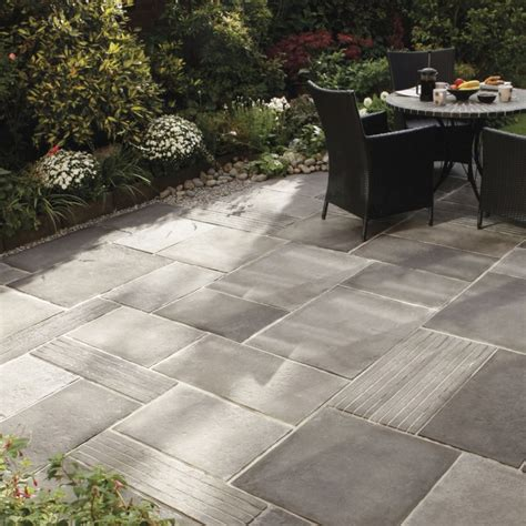 outdoor patio tile depiction of several outdoor flooring concrete styles