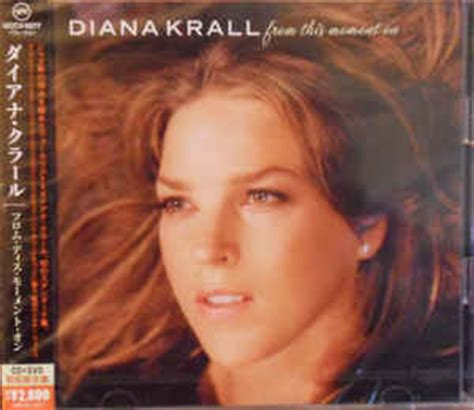 Diana Krall From This Moment On Vinyl diana krall from this moment on cd album at discogs