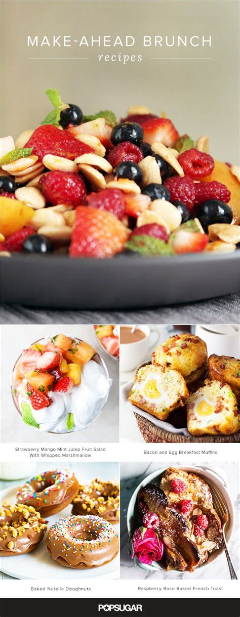 make ahead appetizers for bridal shower recipes best 25 brunch ideas on brunch brunch