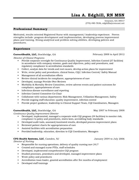 Nursing Resume Summary by Agreeable Nursing Student Resume Summary For Your Nursing