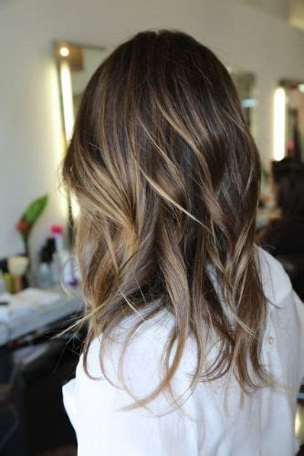 partial highlights for brunettes 25 best ideas about partial highlights on pinterest