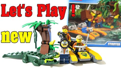 lego city jungle boat lego city jungle new jungle starter set 60157 review