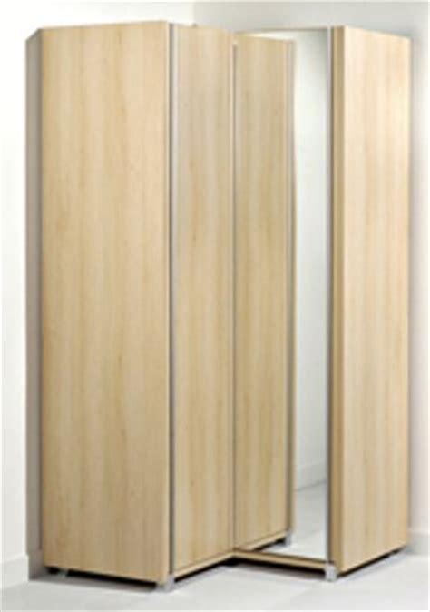 gautier 018 370 corner wardrobe city collection oak finish l 110 cm 43 30 quot h 219 cm 86