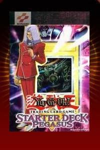 pegasus starter deck pegasus unlimited edition starter deck yu gi oh sealed