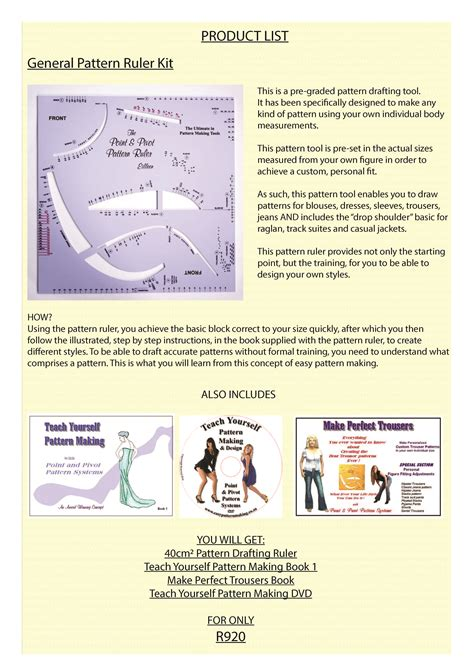 pattern making ease teach yourself pattern making products make sewing