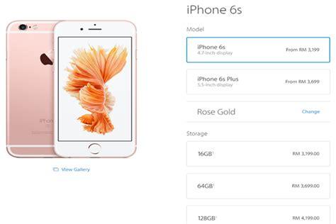 Harga Iphone 6s harga terkini iphone 6s di malaysia