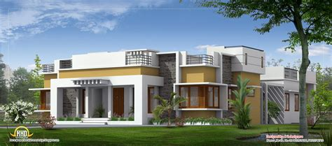 Small Home Floor Plan Ideas by Beautiful Single Floor Home Kerala House Design Idea