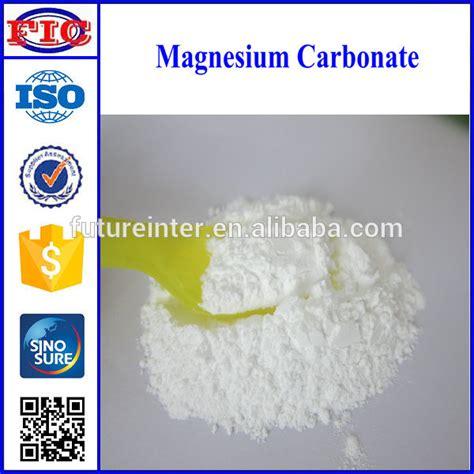 Magnesium Karbonat Magnesium Carbonate excellent grade magnesium carbonate used in toothpaste