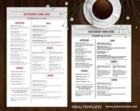 bar menu templates free design templates menu templates wedding menu food