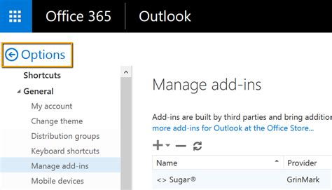 Office 365 Outlook Plugins Single User Installation Grinmark Outlook 365 Plugin For