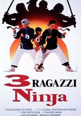 film ninja hatori di spacetoon 3 ragazzi ninja 1992 film movieplayer it