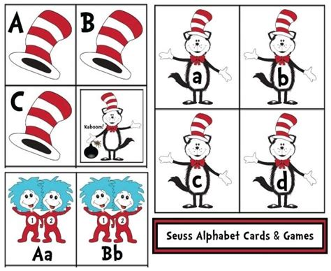 dr seuss printable alphabet letters pinterest the world s catalog of ideas