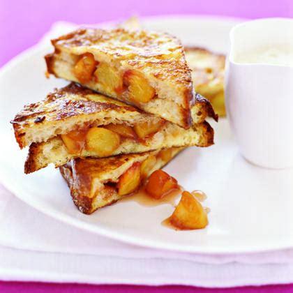 peach french toast recipe myrecipes