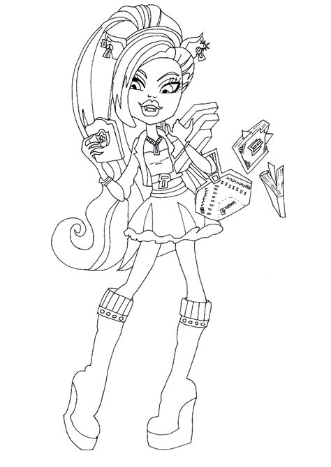monster high coloring pages 13 wishes gigi free printable monster high coloring pages clawdeen wolf