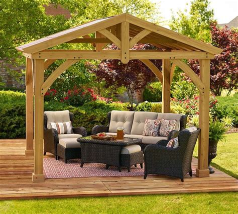 beautiful backyard pavilion ideas design pictures