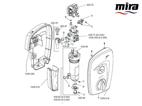 Mira Shower Spare Parts by Mira Vista Shower Spares And Parts Mira Vista National