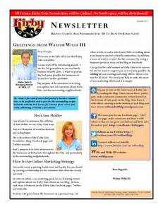 neighborhood newsletter template kirby gate launches newsletter explaining social media