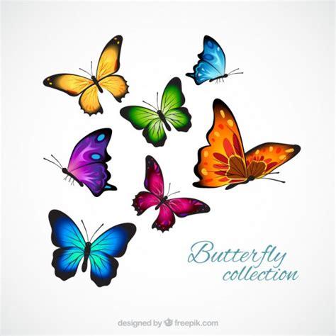 imagenes de varias mariposas borboletas realistas e coloridos baixar vetores gr 225 tis