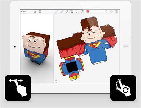 Paper Folding Figures - met de app folidify leer je eenvvoudig 3d doosjes maken