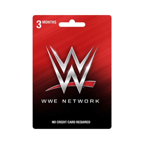 wwe network 3 month subscription gift card wwe us - Wwe Network Gift Card