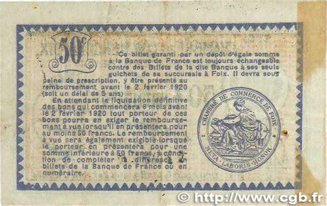 chambre de commerce foix 50 centimes r 233 gionalisme et divers foix 1915 jp 059