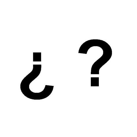 imagenes simbolos de interrogacion c 243 mo se usan los signos de interrogaci 243 n 10 pasos