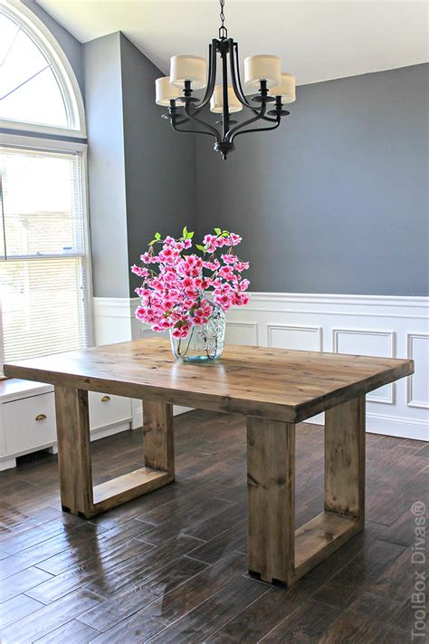 gorgeous diy dining table ideas  plans  house