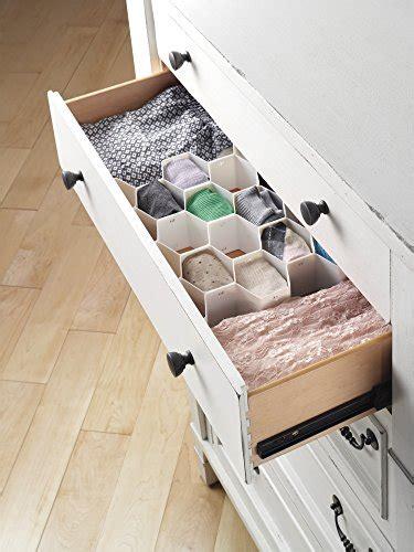 whitmor drawer organizer whitmor honeycomb drawer organizer import it all
