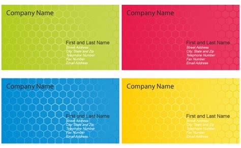 business card design template vector free business card design templates vector vector free vector