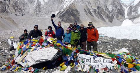Film Everest Cardiff   peter marks 60th birthday with everest charity trek