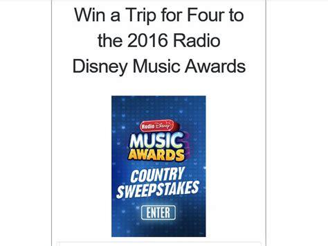 Radio Disney Music Awards Sweepstakes - the radio disney music awards sweepstakes