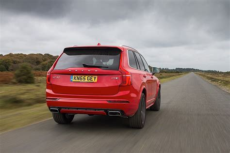 volvo uk volvo xc90 r design available in the uk sportiest volvo