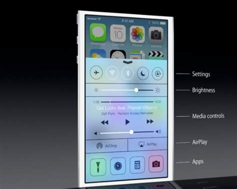 control center themes ios 7 wwdc roundup all the new features of ios 7