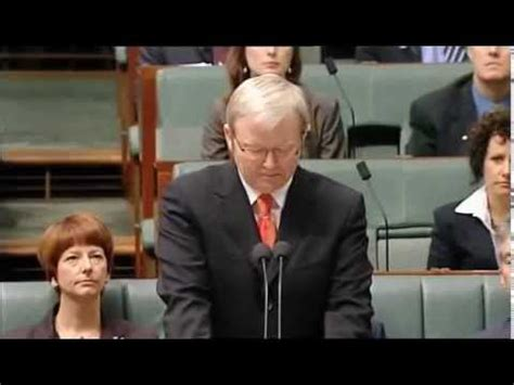 Kevin Rudd Apology Essay by National Apology To The Stolen Generations
