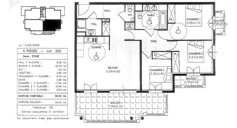 plan maison 80m2 3 chambres plan appartement 80m2 3 chambres
