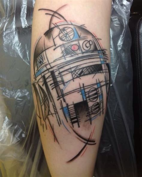 r2d2 tattoo these 14 war tattoos make these nerds way cooler than you