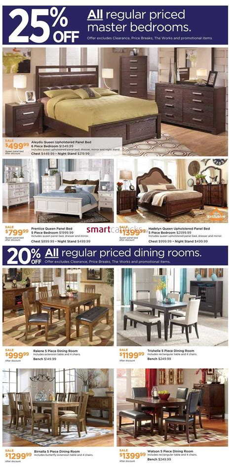 furniture homestore west weekend sale flyer
