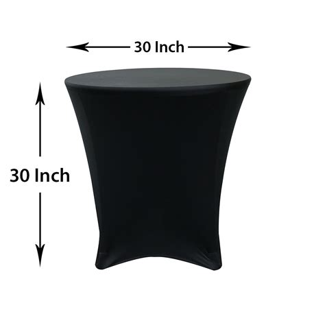 spandex highboy table cover 30 x 30 inch spandex highboy cocktail table covers