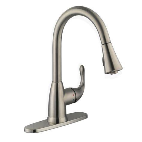glacier bay single handle kitchen faucet glacier bay market single handle pull sprayer kitchen
