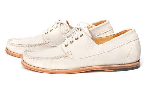 Handmade Boat Shoes - handmade calfskin williamson boat shoe by thorocraft