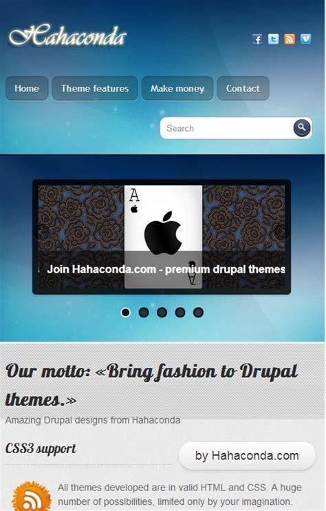 theme list drupal 7 free drupal 7 responsive themes agilelion