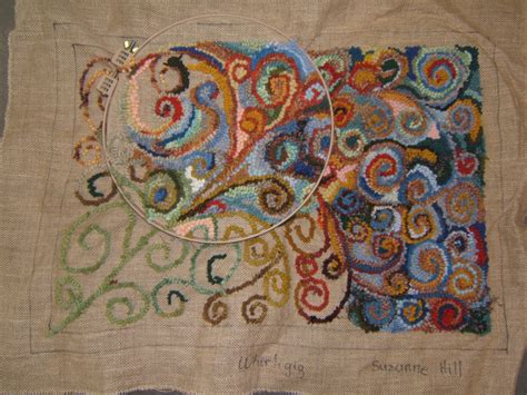 hooking rugs it is often difficult to discern locker hooking from rug hooking and these explain it well