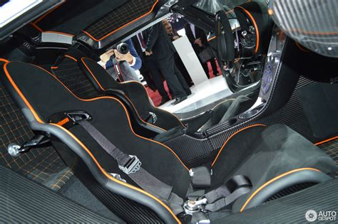 koenigsegg one interior geneva 2014 koenigsegg one 1