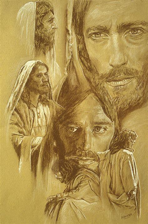 doodle jesus jesus drawing by bryan dechter