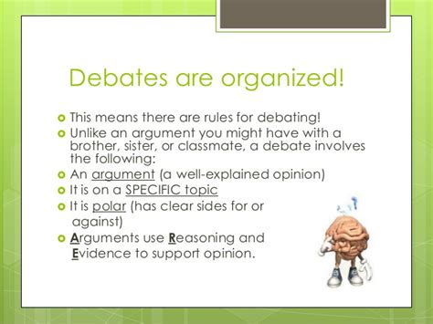 a rulebook for arguments books intro to debate april 2013