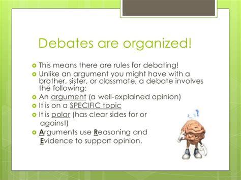 classroom debate layout intro to debate april 2013
