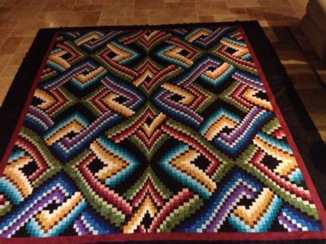 Free Bargello Quilt Patterns by Bargello Top Quot Mystic Nights Quot Pattern Done