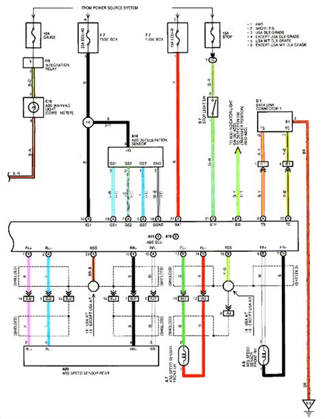 i need a brake line routing diagram for a 98 toyota t100