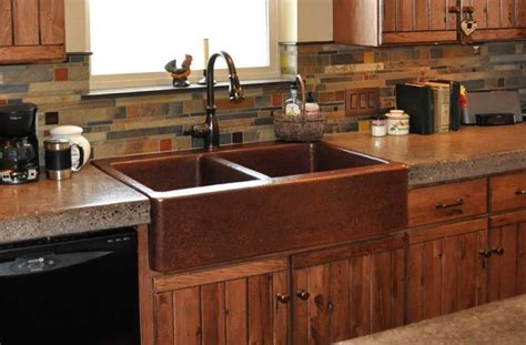 copper kitchen sink pros and cons farmhouse kitchen sinks kitchen sinks always between