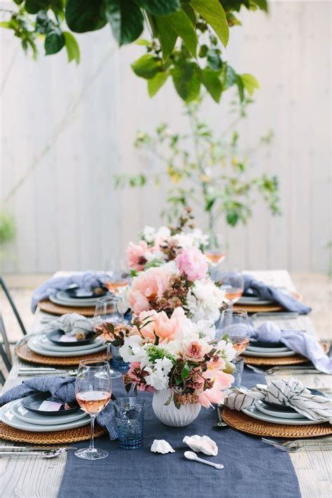 dinner party table setting home decor pinterest stunning summer table setting ideas